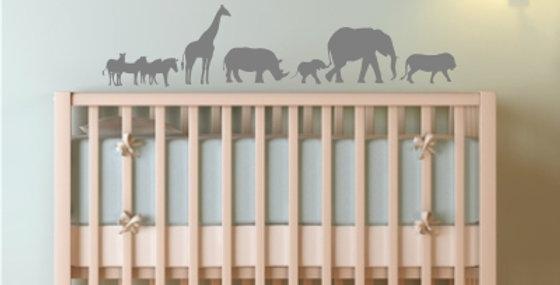 African Safari Decal
