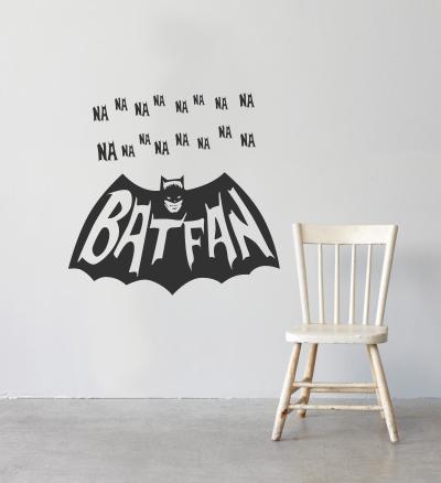 Batfan decal