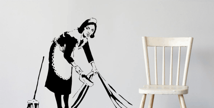 Swept Up Decal