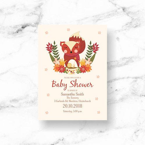 Baby Shower Invitation - Download & Print