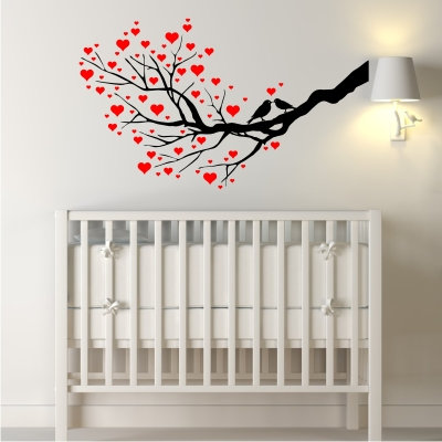 Tree of Love Decal