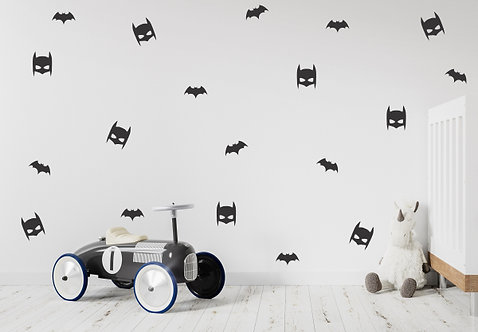 Batmask Decals