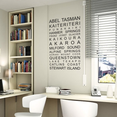 South Island Must Sees Decal
