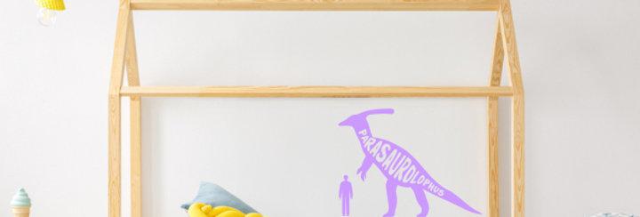 Parasaurolophus Dinosaur Wall Decal