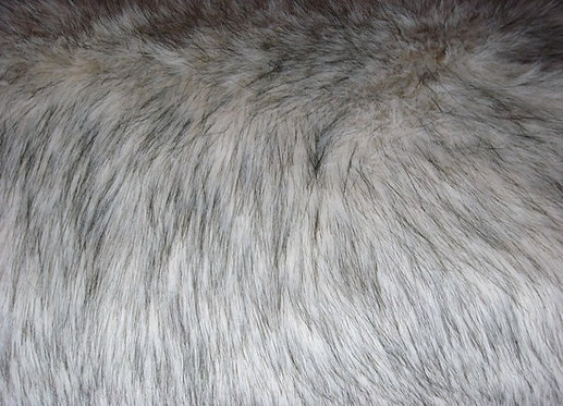 HEIRLOOM Beige Fox Faux Fur Throw