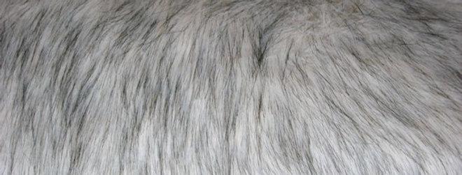 HEIRLOOM Beige Fox Faux Fur Throw