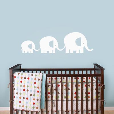 Elephant Family Decal