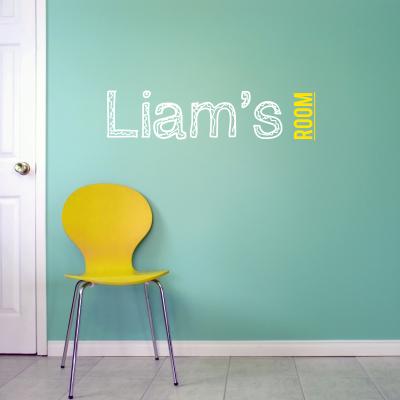 Custom Name-it - Child's Room