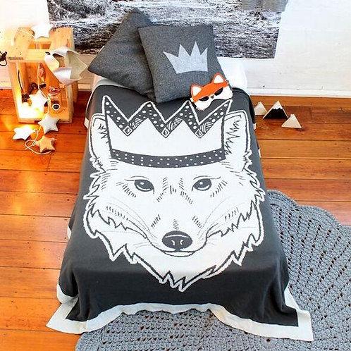 Toddler Fox Blanket