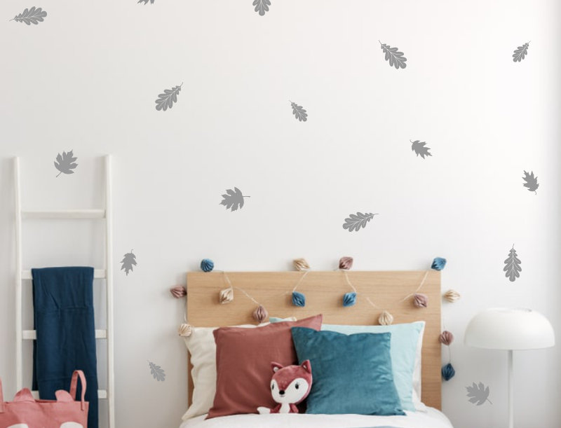 Woodland Leaves Decals