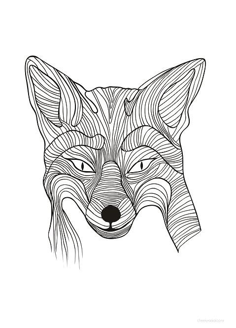 Fox - Download & Print