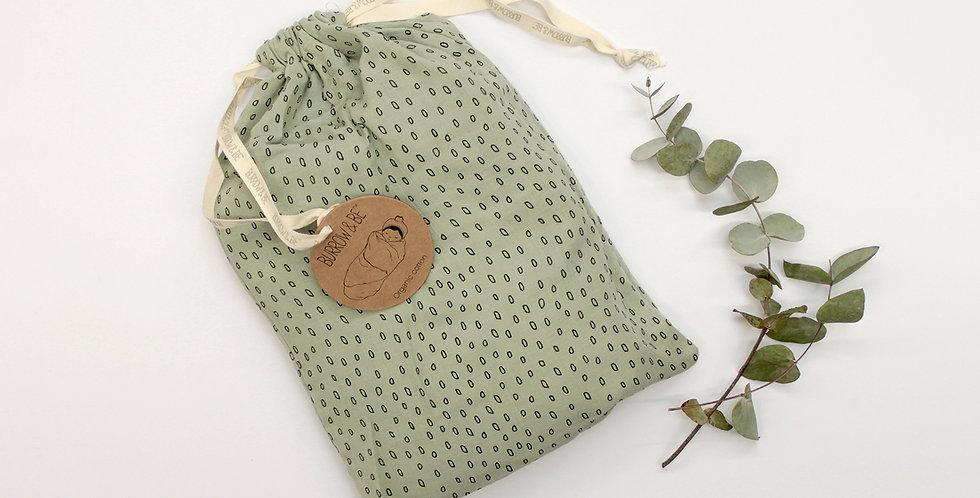Wilder Garden Muslin Wrap - Sage
