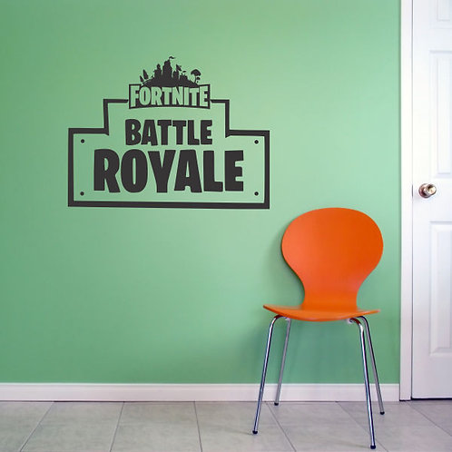 Fortnite Battle Royale Wall Decal