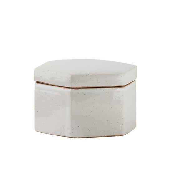 GE Aurora Hexagon Stone Box - Small