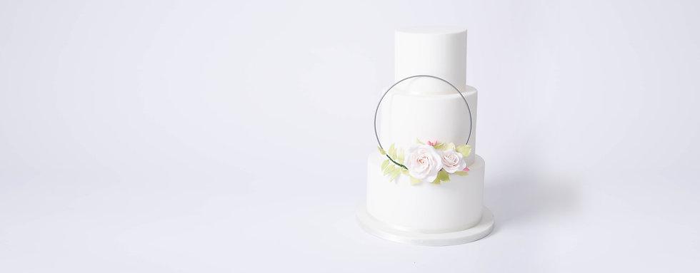 Wedding Cake made in Berkhamsted, Hertfordshire