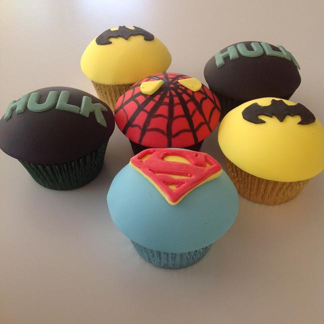 super hero cupcakes.JPG