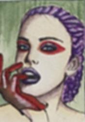 Giulia.By watercolors