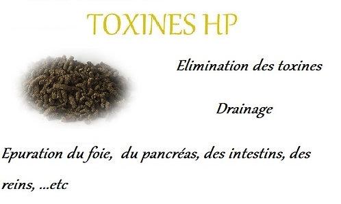 esprit horse toxines hp drainage foie rein hépatique pancreas chevaux phyto