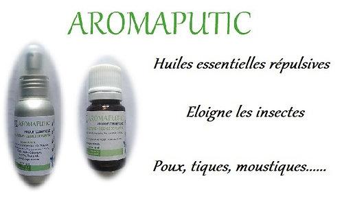 esprit horse aromaputic anti puces tiques poux chien huiles essentielles phyto