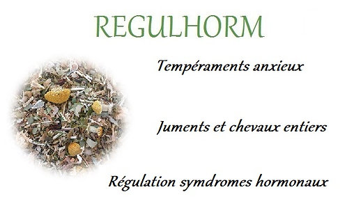 esprit horse regulhorm anxiete hormonale chaleur ovaires chevaux phyto