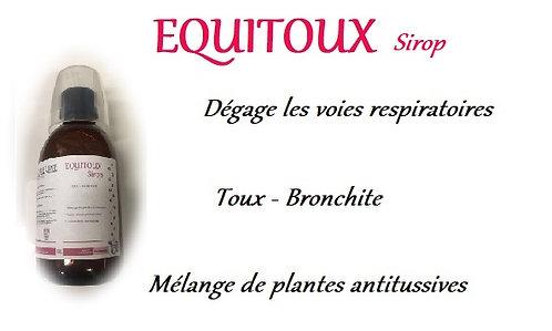 Esprit horse cheval phyto plante equitoux sirop toux bronchite poumons voies respiratoires
