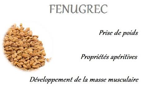 esprit horse fenugrec plante phyto cheval appetit masse musculaire prise de poids