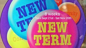 New term dates