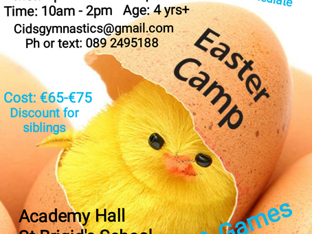 Easter camp now available for booking