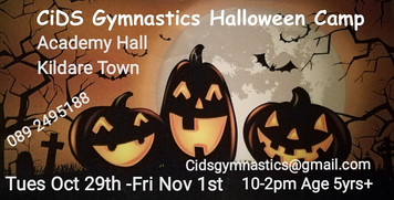 Fun Halloween Gymnastics Camp