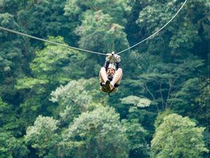 Ziplining Monteverde, Costa Rica, Playa Samara