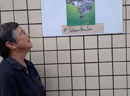 "Irmã Meire Elizabeth Bednarek convida a todos para a campanha ""Só o silêncio pode ecoar nossa dor"""