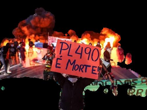 JUNHO DE LUTA DOS POVOS INDÍGENAS: TODOS CONTRA O MARCO TEMPORAL