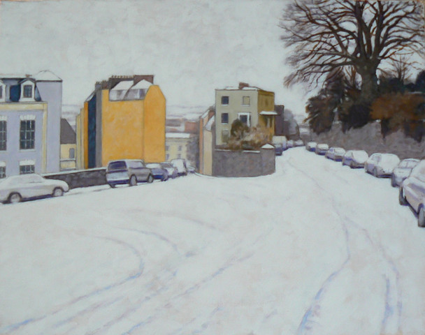 SNOWFALL GRANBY HILL