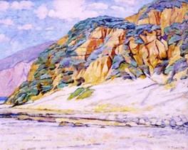 BEACH AT BIG SUR