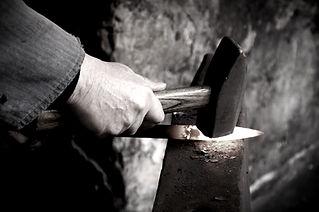 steel utensils working