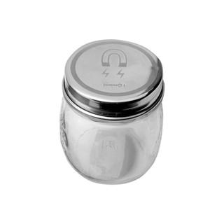 Magnetic jar cap