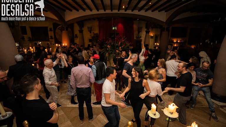 City Centre (Arta) Improvers Salsa, 8 week course  (Mar)