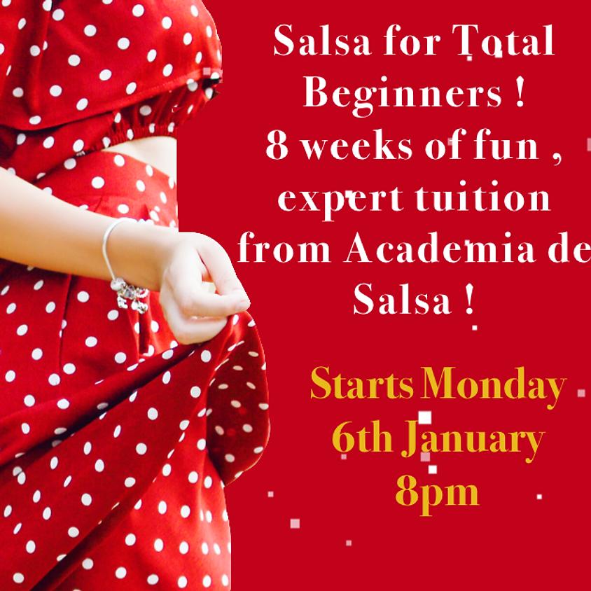 Shawlands Beginners Salsa, 8 week course  (Jan)