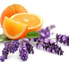 EŅĢEĻZIEPES ar lavandu un apelsīnu