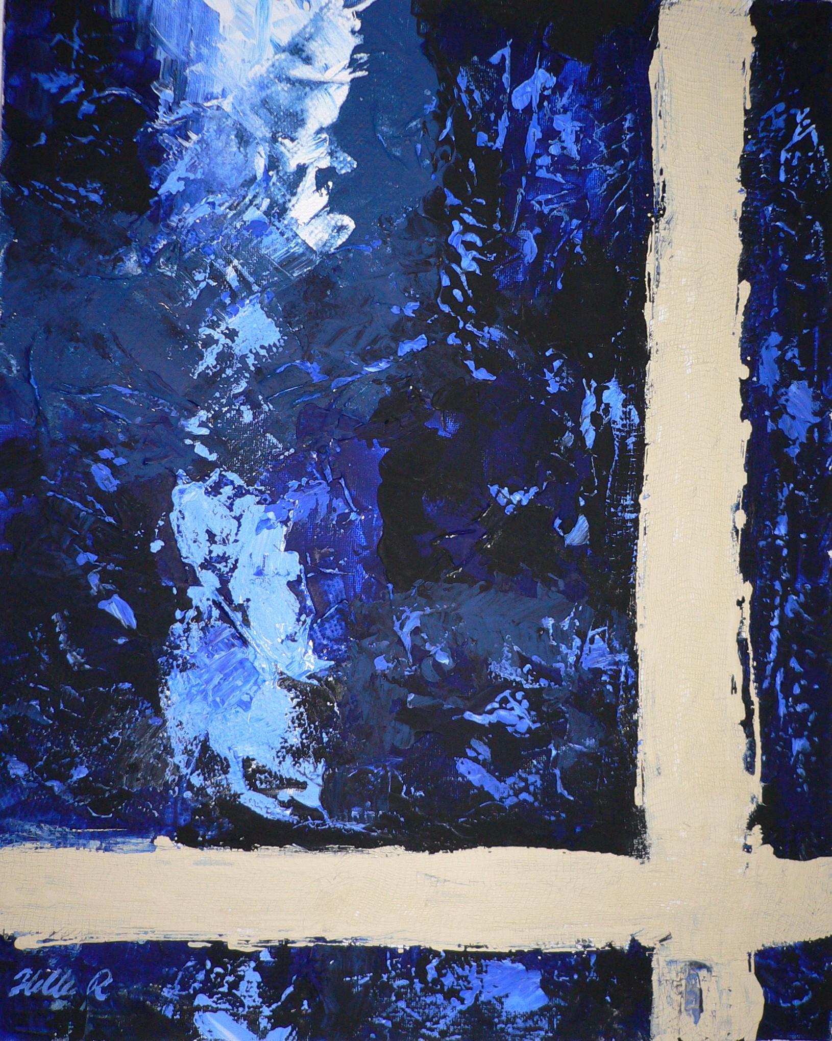 Blue Acrylic $250