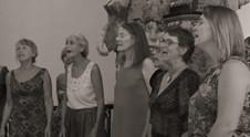 pupitre féminin à Davejean, août 2019