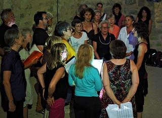 Concert à Queribus, juillet 2018