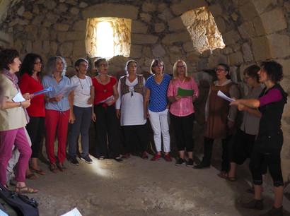 Concert au château d'Aguilar, juin 2018