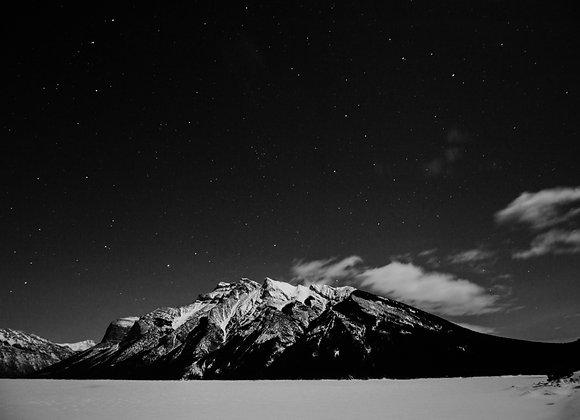 Bookmark - Black and White Mountain