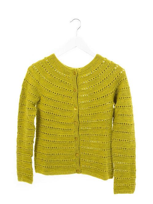Line Dried Cardigan pattern