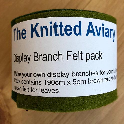 Display Branch Felt Pack