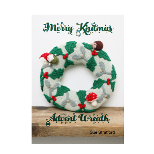 Merry Knitmas Advent Wreath Booklet