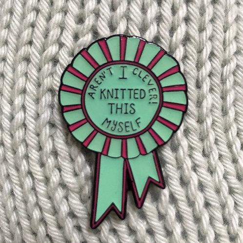 I made it Myself! pin badge