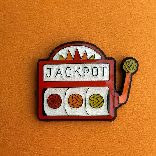 Jackpot Pin Badge
