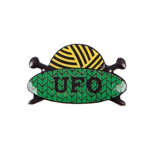 UFO Pin Badge